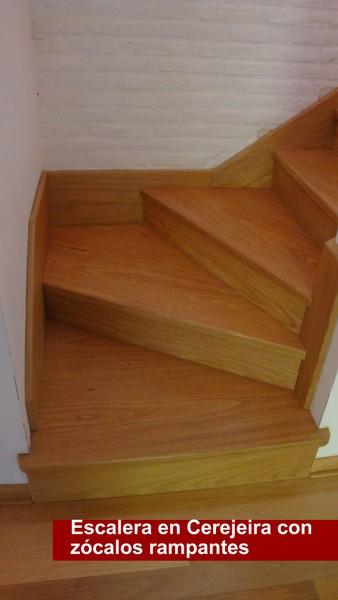 Escaleras y barandas pisos d ercole - Zocalos para escaleras ...