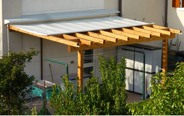 Pergolas pisos d ercole - Pergolas de aluminio para jardin ...